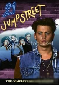 《龙虎少年队》1987封面,约翰尼德普成名作