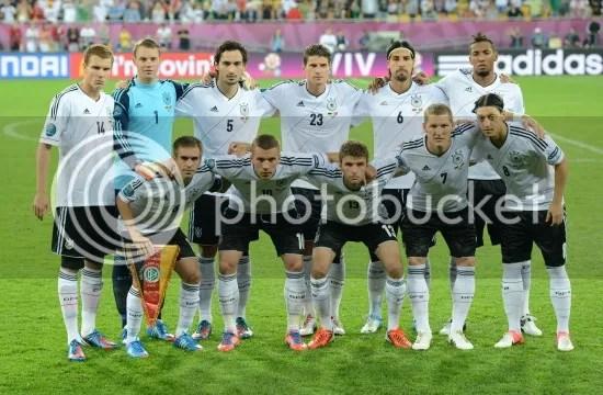 德国队首发阵容