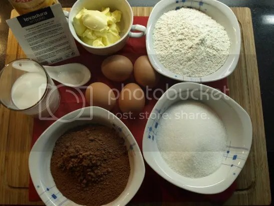 Ingredientes tarta sacher