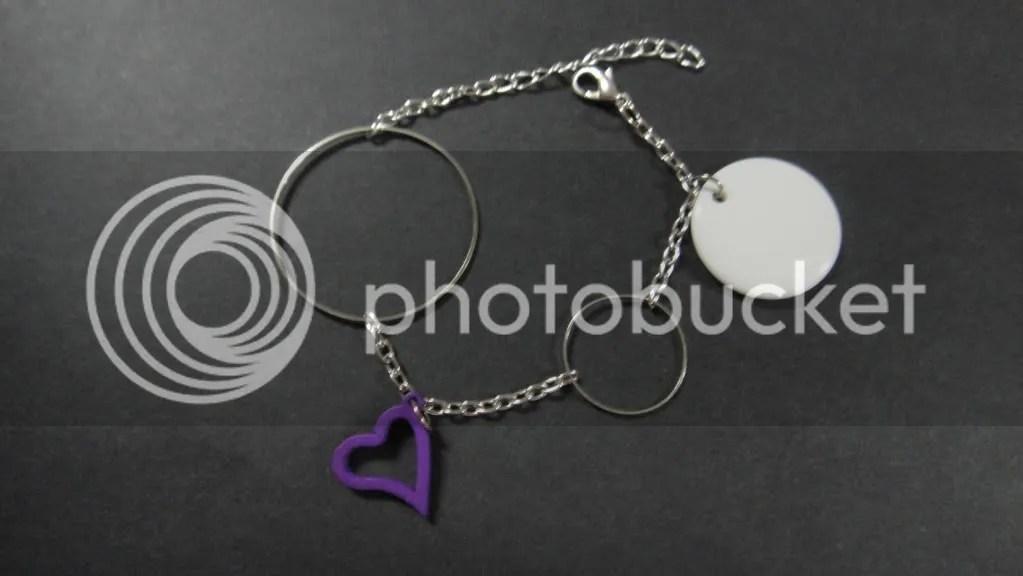geometrical bracelet handmade