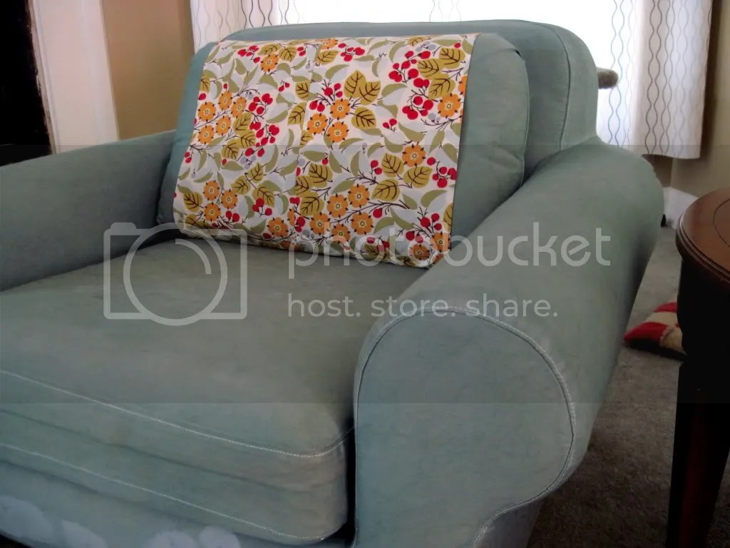 IKEA Chair Dye Job