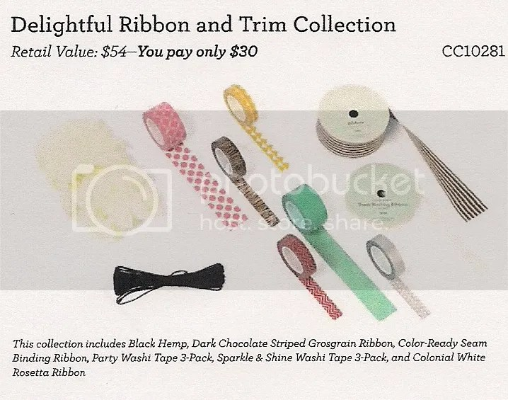 Delightful Ribbon and Trim Collection CC10281
