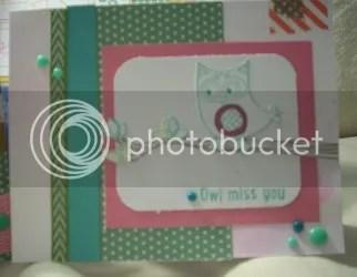 B1450 Owls card