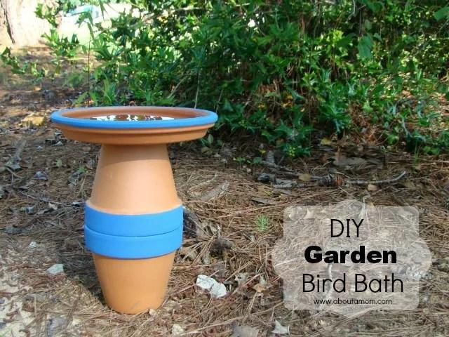 DIY Garden Bird Bath Project - Miracle Gro The Gro Project