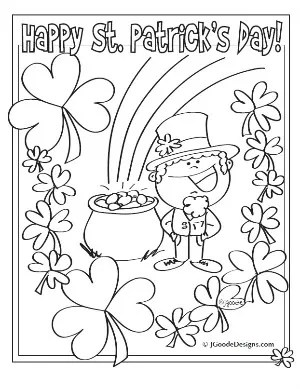 st patrick 39 s day printable coloring amp activity sheets about a mom