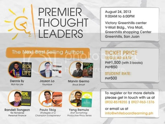 Premier thought leaders seminar