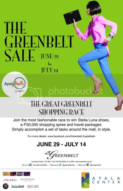 greenbelt shopping race