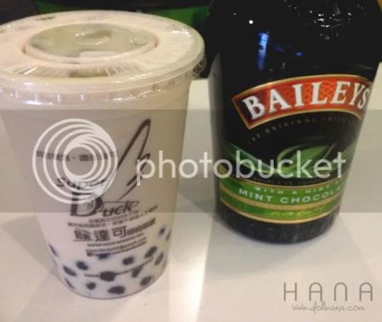 Super Duck Bailey's milk tea
