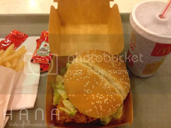McDonald's McSpicy Chicken Burger