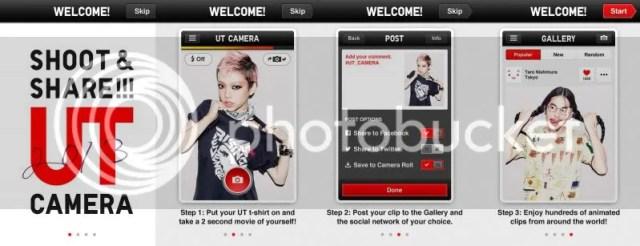 Uniqlo Camera app