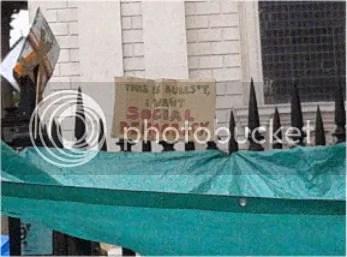 Photo taken at #occupylsx camp, 17/10/11