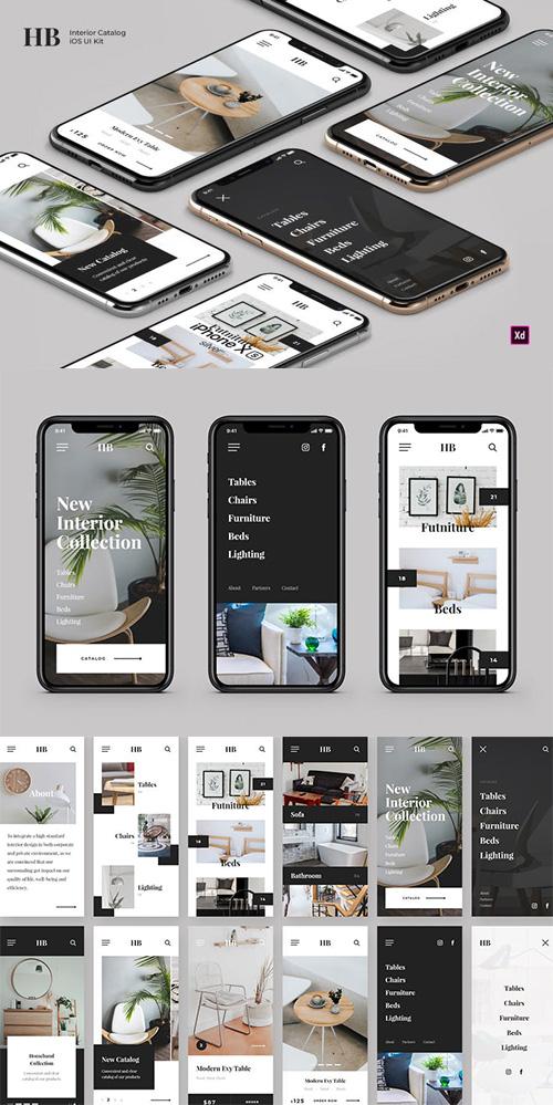 Homeband - Interior & Furniture iOS UI Kit