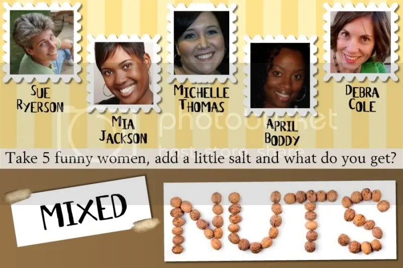 APril Body (Body) is one of the talented comediennes on the Mixed Nuts female comedy tour.