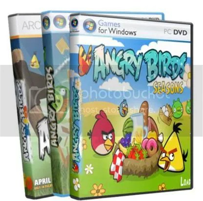 716 - Angry Birds HD for PC Premium Collection of 2012 Full