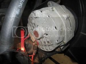 Proper Grounding locations for starter, alternator and