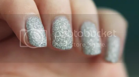 GOSH frosted silver
