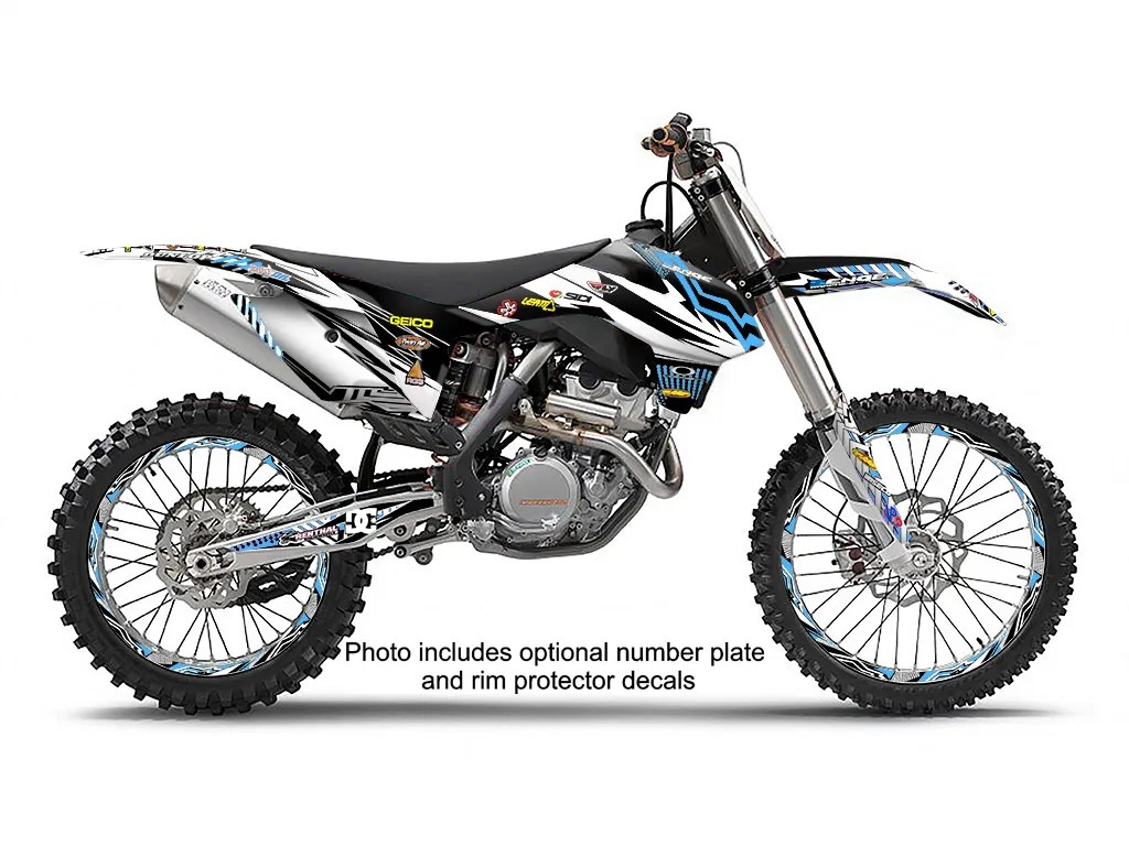 Ktm Sx 125 150 250 2 Stroke Graphics Kit Deco