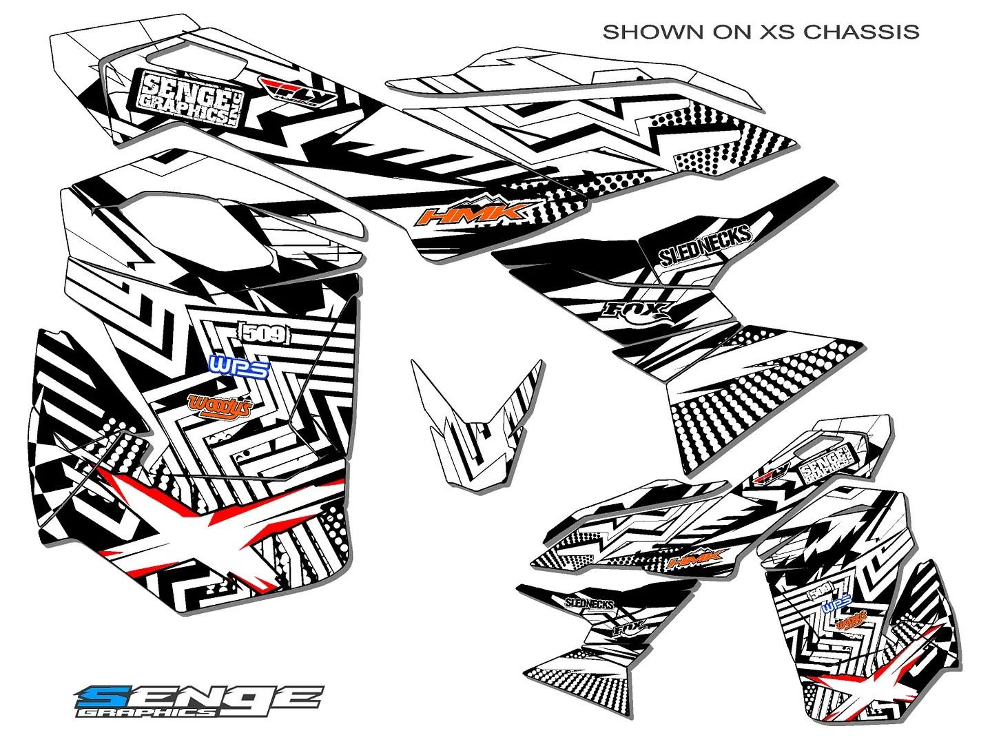 Ski Doo Xp Etec E Tec Graphics