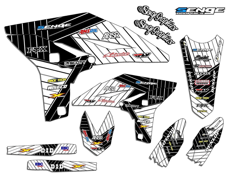 Yamaha Yz 125 250 Graphics Yz125 Yz250