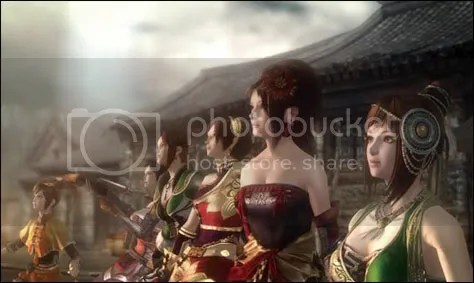 Female Character Names in Dynasty Warriors Titles