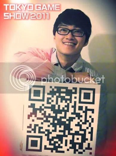 Insp. Chin @ Tokyo Game Show (TGS 2011) QR