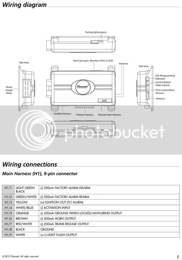 Valet Remote Starter Wiring Diagram Dolgularcom