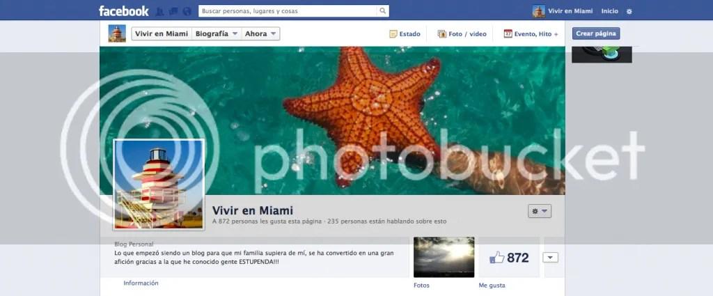 Facebook Vivir en Miami