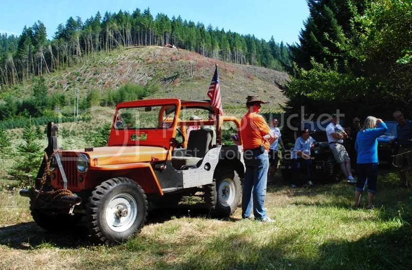 Willys Jeep Meet at Whitewater Ranch
