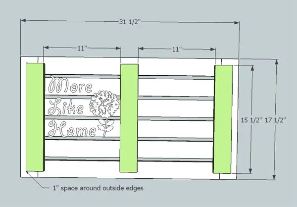 More Like Home DIY Outdoor Bench Plans For Wall Panel System