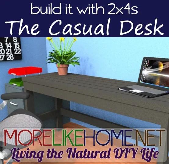 build your own desk plans