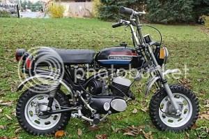 Harley mini bike