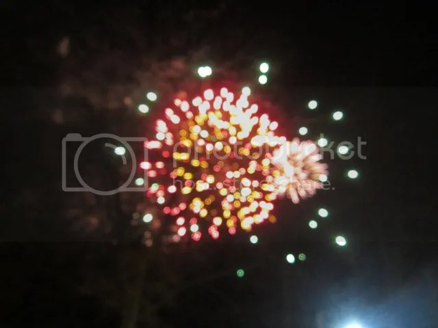 New Year's Eve fireworks, St. Stephen's Green