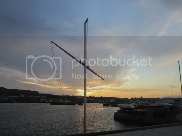 Howth Harbour at dusk