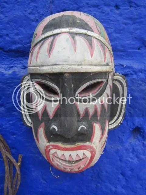 Mask at Anado's