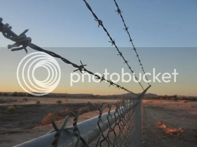 Desert fence