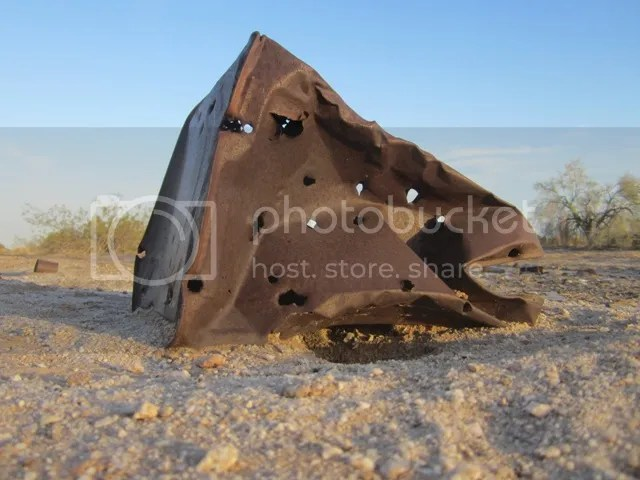 Bullet-riddled tin photo SonoranMay2013561a_zps75bb4329.jpg