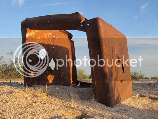 Desert junk