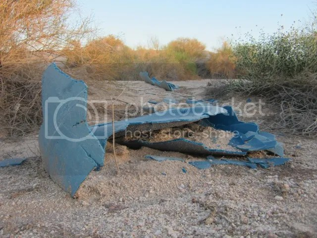 Blue junk