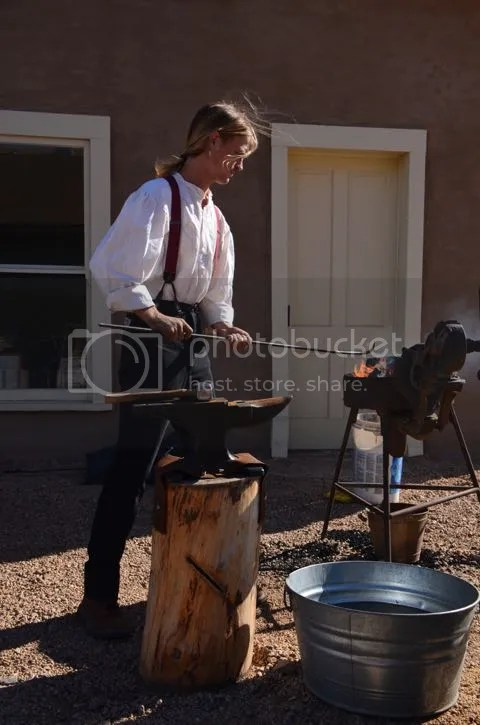 Yuma Quartermaster Depot blacksmith photo YQMblacksmith_zpsb9b62a22.jpg