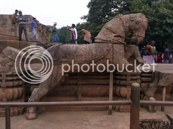 Konark sun temple horse