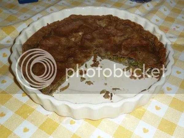 Torta di grano saraceno alle verdure primaverili (foto)