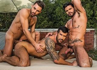 James Castle – Adam Killian – Mario Domenech – Raw Threesome (Lucas Ent.)