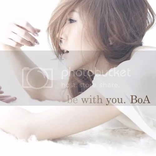 BoA, be with you., cover
