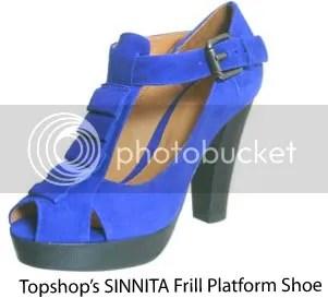 Sinnita Frill Platform shoes