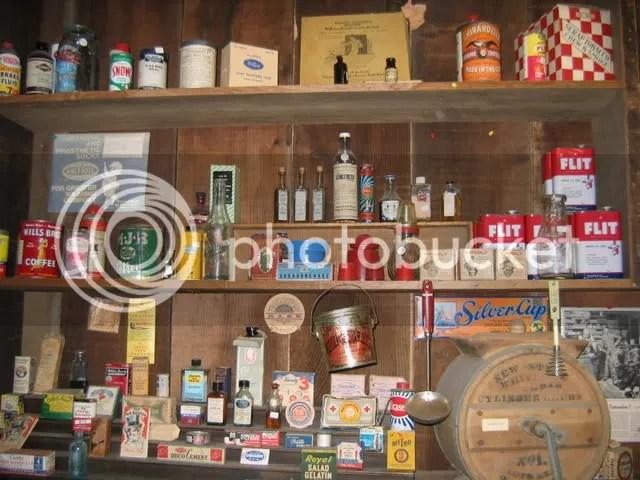 Old Medicine Bottles, Eddie's Iron Horse