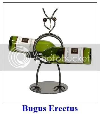 Bugus Erectus Wine Rack