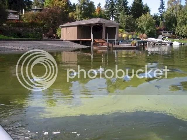 Lake Steilacoom in Pierce County, WA
