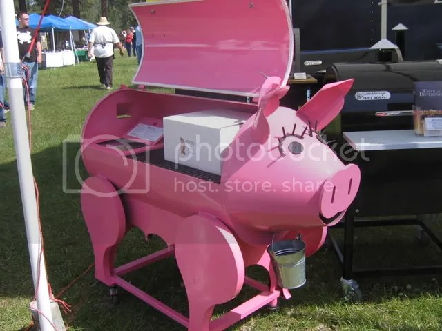 Pig Barbeque Grill