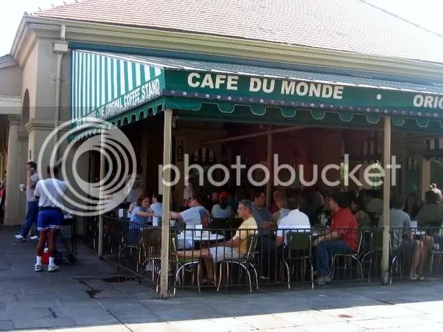 Cafe Du Monde, French Quarter, New Orleans