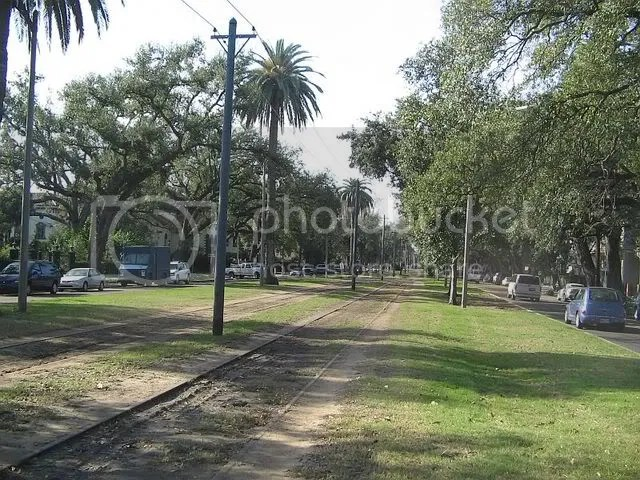 Cable Car tracks, New Orleans